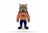 Edmonton Oilers Mascot Pennant Fanion Premium Shape Cut Hunter Lynx