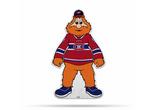 Montreal Canadiens Mascot Pennant Fanion Premium Shape Cut Youppi