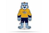 Nashville Predators Mascot Pennant Fanion Premium Shape Cut Gnash