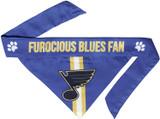 St. Louis Blues Dog Cat Tie Bandana Reversible