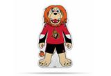 Ottawa Senators Mascot Pennant Fanion Premium Shape Cut Spartacat