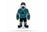 San Jose Sharks Mascot Pennant Fanion Premium Shape Cut Sharkie