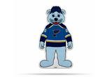 St. Louis Blues Mascot Pennant Fanion Premium Shape Cut Louie