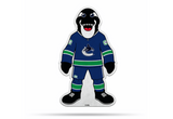 Vancouver Canucks Mascot Pennant Fanion Premium Shape Cut Fin The Whale