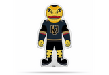 Vegas Golden Knights Mascot Pennant Fanion Premium Shape Cut Chance