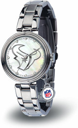 Houston Texans Women's Charm Watch Mother Of Pearl