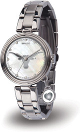 Texas Longhorns Women's Charm Watch Mother Of Pearl