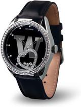 Washington Huskies Women's Beat Watch Floating Heart Crystals