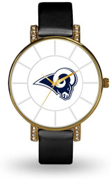 Los Angeles Rams Women's Lunar Watch w/ Crystal Accents