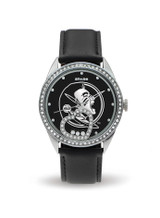 Florida State Seminoles Women's Beat Watch Floating Heart Crystals
