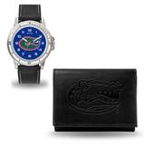 Florida Gators Men's Black Watch & Wallet Set