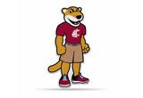Washington State Cougars Mascot Pennant Premium Shape Cut Butch