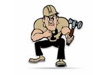 Purdue Boilermakers Mascot Pennant Premium Shape Cut Pete