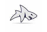 Mississippi Rebels Mascot Pennant Premium Shape Cut Tony Landshark