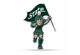 Michigan State Spartans Mascot Pennant Premium Shape Cut Sparty