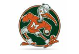 Miami Hurricanes Mascot Pennant Premium Shape Cut Sebastian Ibis