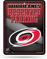 Carolina Hurricanes Premium Metal Reserved Parking Sign