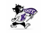Kansas State Wildcats Mascot Pennant Premium Shape Cut Willie