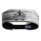 Los Angeles Kings Tigerspace Women's Headband Gray/Black