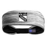 New York Rangers Tigerspace Women's Headband Gray/Black