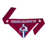 Colorado Avalanche Dog Cat Tie Bandana Furocious Fan Reversible