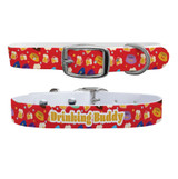 Beer Drinking Buddy Premium Dog Collar Odor Proof Waterproof Antimicrobial