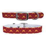Minnesota Golden Gophers Premium Dog Collar Odor Water Proof Antimicrobial