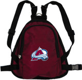 Colorado Avalanche Dog Cat Mini Backpack Harness w/ Leash