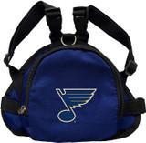 St. Louis Blues Dog Cat Mini Backpack Harness w/ Leash