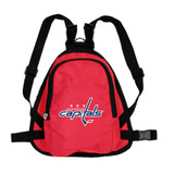 Washington Capitals Dog Cat Mini Backpack Harness w/ Leash