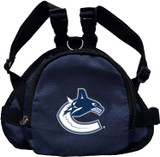 Vancouver Canucks Dog Cat Mini Backpack Harness w/ Leash