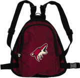Arizona Coyotes Dog Cat Mini Backpack Harness w/ Leash