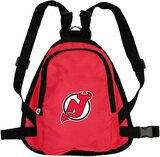 New Jersey Devils Dog Cat Mini Backpack Harness w/ Leash