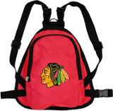 Chicago Blackhawks Dog Cat Mini Backpack Harness w/ Leash