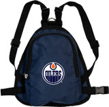 Edmonton Oilers Dog Cat Mini Backpack Harness w/ Leash