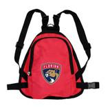 Florida Panthers Dog Cat Mini Backpack Harness w/ Leash