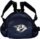 Nashville Predators Dog Cat Mini Backpack Harness w/ Leash