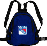 New York Rangers Dog Cat Mini Backpack Harness w/ Leash