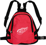 Detroit Red Wings Dog Cat Mini Backpack Harness w/ Leash