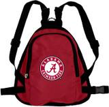 Alabama Crimson Tide Dog Cat Mini Backpack Harness w/ Leash