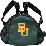 Baylor Bears Dog Cat Mini Backpack Harness w/ Leash