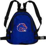 Boise State Broncos Dog Cat Mini Backpack Harness w/ Leash