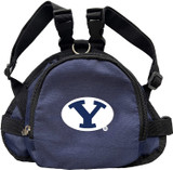 BYU Cougars Dog Cat Mini Backpack Harness w/ Leash