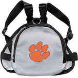 Clemson Tigers Dog Cat Mini Backpack Harness w/ Leash