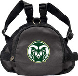 Colorado State Rams Dog Cat Mini Backpack Harness w/ Leash