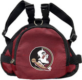 Florida State Seminoles Dog Cat Mini Backpack Harness w/ Leash