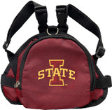 Iowa State Cyclones Dog Cat Mini Backpack Harness w/ Leash