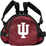 Indiana Hoosiers Dog Cat Mini Backpack Harness w/ Leash