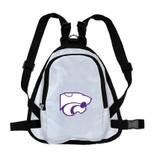 Kansas State Wildcats Dog Cat Mini Backpack Harness w/ Leash