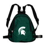 Michigan State Spartans Dog Cat Mini Backpack Harness w/ Leash